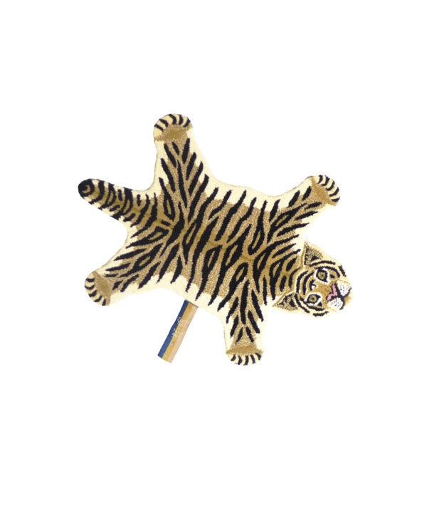 Drowsy Tiger Animal Rug - Small