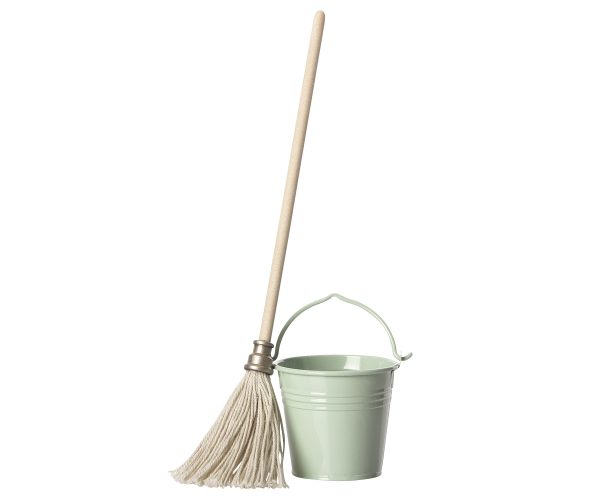 Toy Accessories Maileg Bucket and Mop
