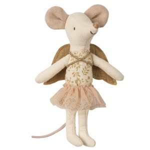 Stuffed Animal Maileg Toy-Angel Mouse