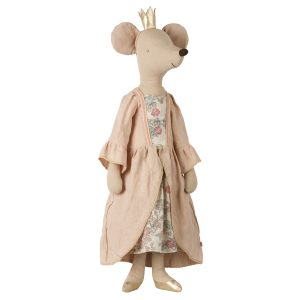 Maileg Toy Stuffed Animal Mega Mouse Princess