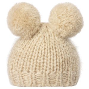 Toy Accessories Knitted hat w. 2 pompom Maileg