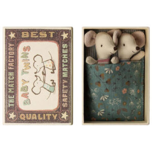 Maileg Accessories Baby Mice Twins