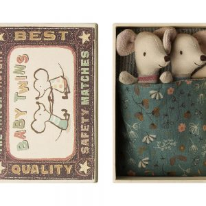 Maileg Accessories Baby Mice Twins in box