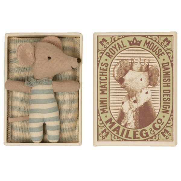 baby mouse toy sleepy and wakey in box boy
