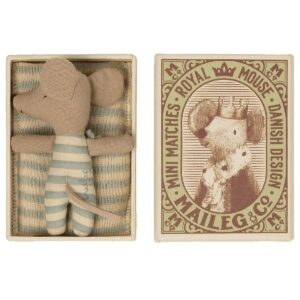 baby mouse toy sleepy and wakey in box boy look