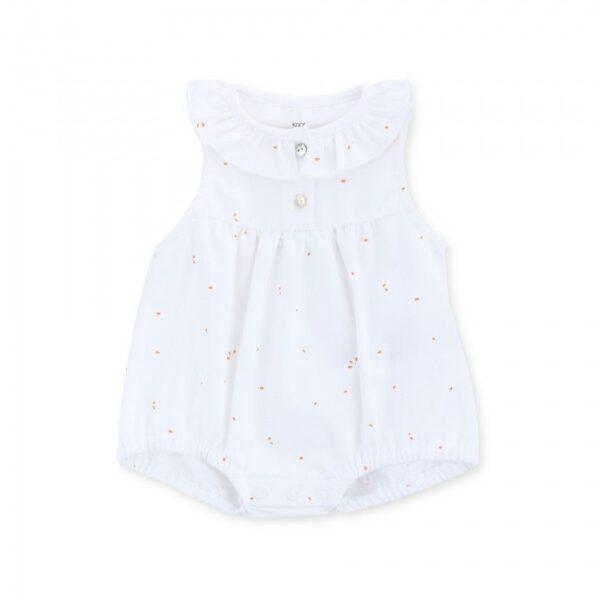 barboteuse baby organic cotton malou