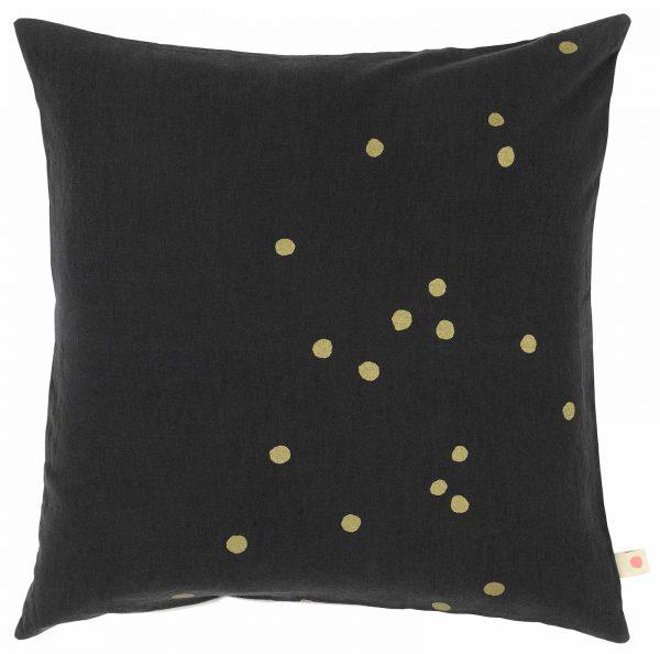 Cushion Cover Lina Caviar Gold
