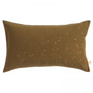 Cushion Cover Lina Tabac Gold Rain