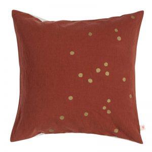 Cushion Cover Lina Terracotta Gold Rain
