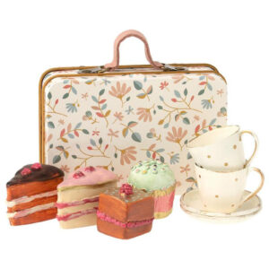 Maileg Toy Accessories Cake Set in Suitcase