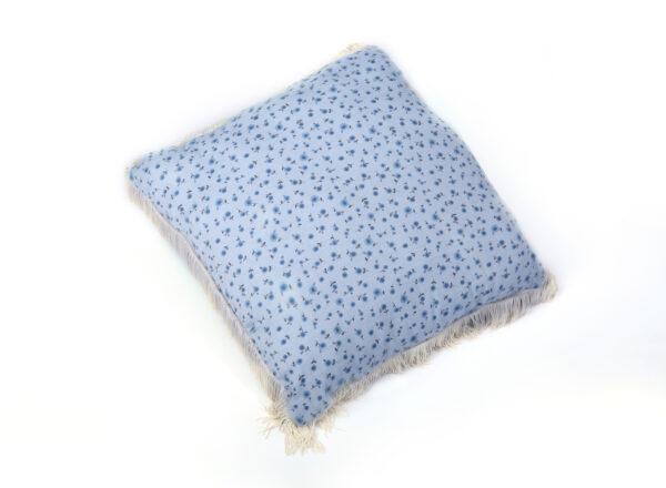 Cerise Fringe Cushion