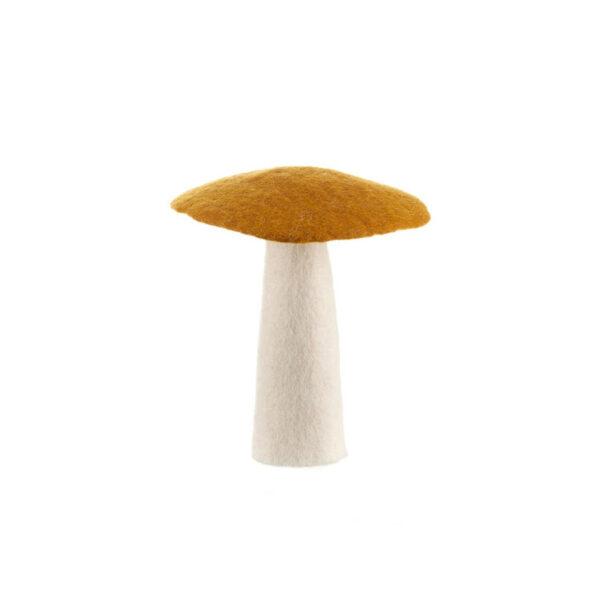 decor mushroom gold xl
