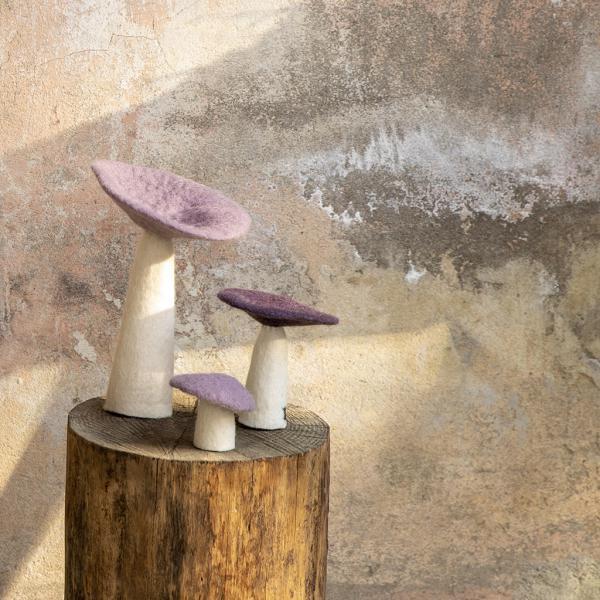 decor mushroom iris large look