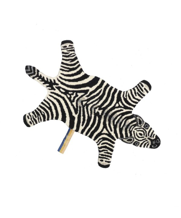 Chubby Zebra Animal Rug