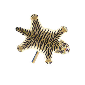 Drowsy Tiger Animal Rug - Small