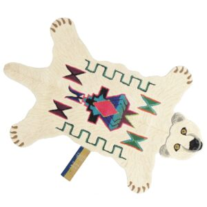 Polar Bear Animal Rug - Large