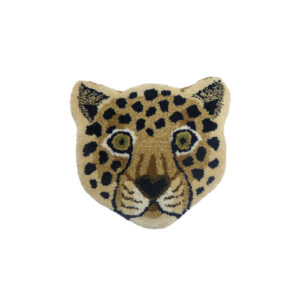 Animal Head Rug Loony Leopard