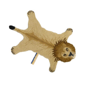 Moody Lion Animal Rug - Small