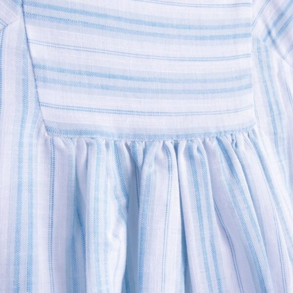 dress cotton isabel look