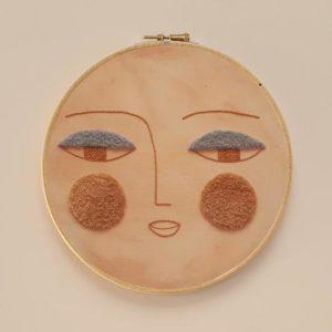 Children Wall Decor Duna Embroidery Hoop