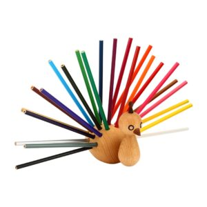 Kids Decor Item - Peacock Pencil Holder