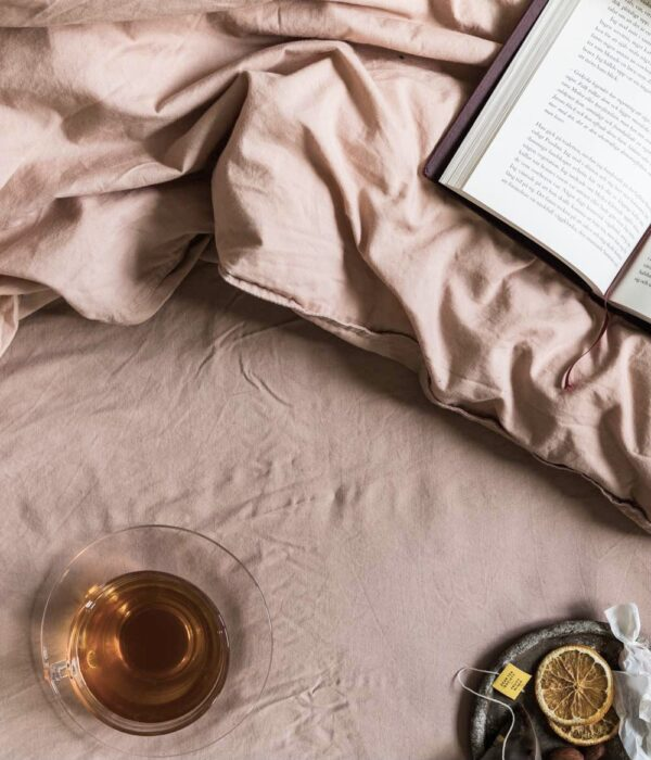 fitted sheet wilted look