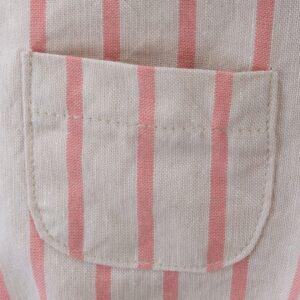 fluffy baby linen sun stripes look3