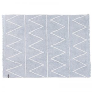 Kids Rug Hippy Light Blue