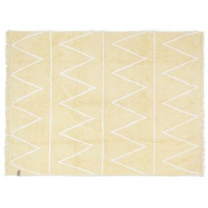 Kids Rug Hippy Yellow