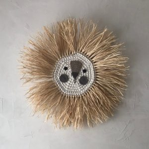 Kids Wall Decor Lion Crochet