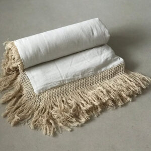 Duvet Cover Cotton Fringe