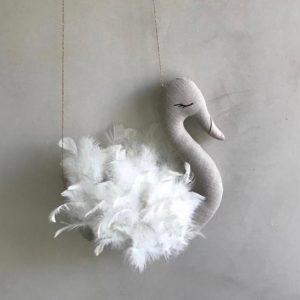 Swan Mobile Wall Decor