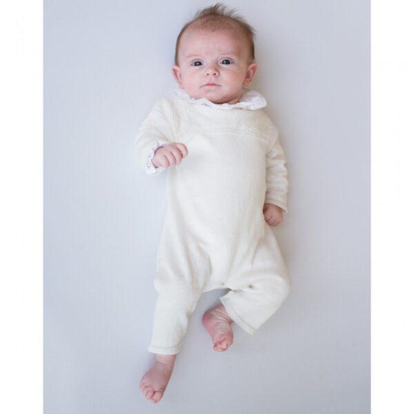 jumpsuit newborn knitting jesse