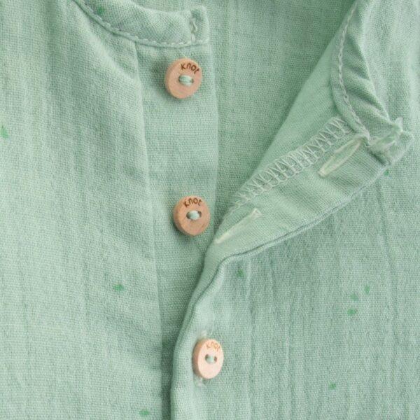 jumpsuit newborn organic cotton kiwi look