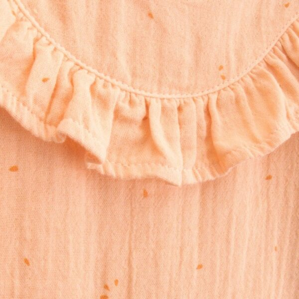 jumpsuit newborn organic cotton tomate look