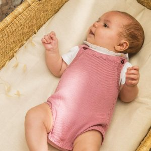 Baby Girl Knitted Romper