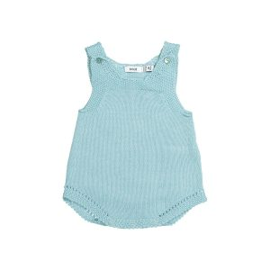 Baby Boy Knitted Romper