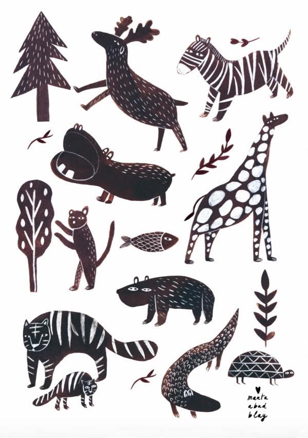 Marta and Abad Blay Wild Animals