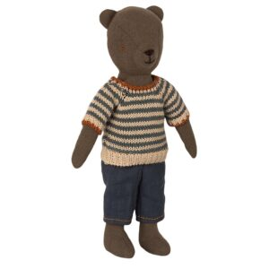 maileg blouse and pants for teddy dad look