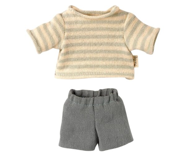 maileg blouse and shorts for teddy junior