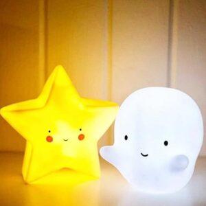 mini star light yellow look