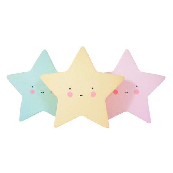mini star light yellow look5