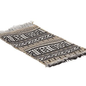 miniature rug toy woven pattern look1