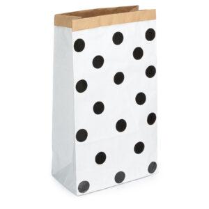 Paperbag Dots Black MonPetit Zoreol