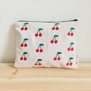 Embroidered Case Cherry MonPetit Zoreol