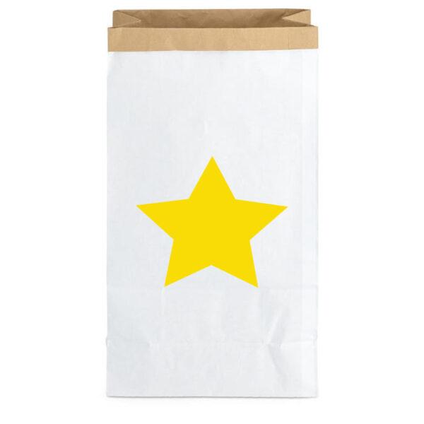 Paperbag Big Star Yellow MonPetit Zoreol