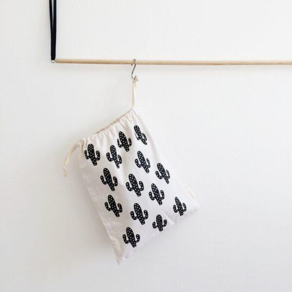 Cotton Bag Cactus MonPetit Zoreol