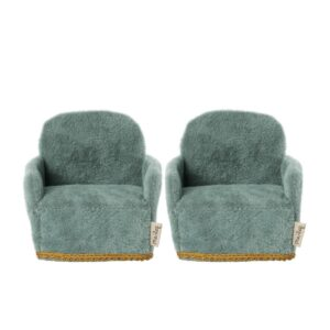 mouse chair green 2pack