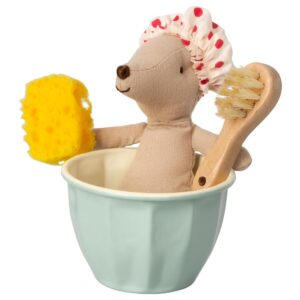 Toy Stuffed Animal Maileg Mouse Spa and Wellness
