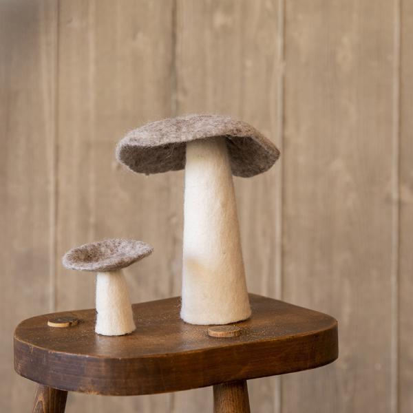 mushroom light stone look